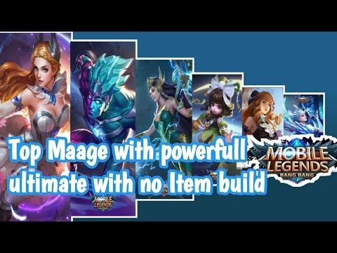 Top Mage with powerfull ulti | No Item Build