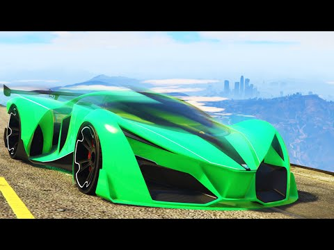 WORLD'S FASTEST GTA CAR EVER! (GTA 5 Funny Moments)