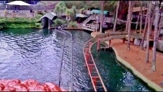 Log Flume Rainbows End ONRIDE The Enchanted Forest  HD