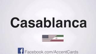 Persian Accent : Casablanca