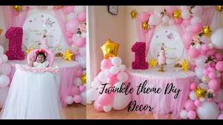 5 Diy Baby Shower Or Baby Girl Birthday Decor| Step By Step Tutorial|