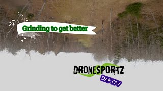 Freestyle practise - Alone out early (fpv, quad, drönare)