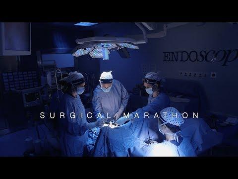 Laparoskopowa odcinkowa resekcja pęcherza moczowego z oszczędzeniem nerwów z pwoodu głeboko naciekającej endometriozy.