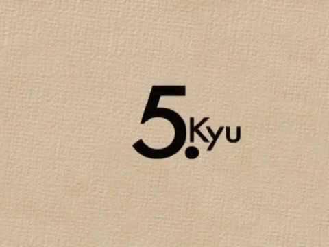Kyu Prüfungsprogram - 5.Kyu