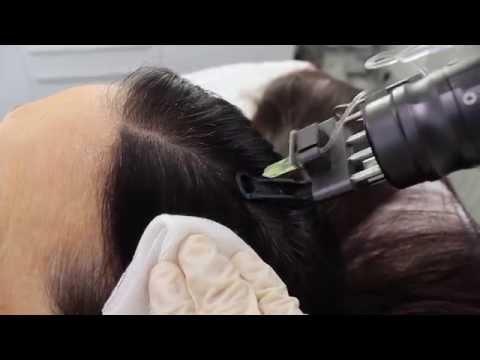 Die Maske der Tee des Kakaos das Haar