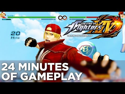 Gameplay de The King of Fighters XIV