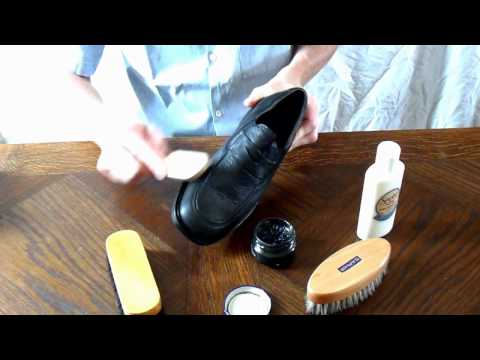 comment nettoyer chaussure en cuir