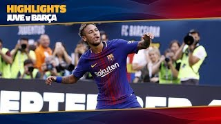 HIGHLIGHTS: Juventus - Barça (1-2) ICC 2017