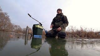 Ловля щуки зимой на речке