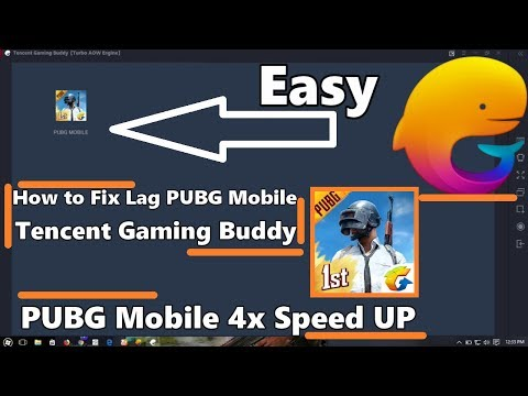 Tencent Gaming Buddy PUBG Mobile Speed Up 4x How to Fix Lag , Glitch