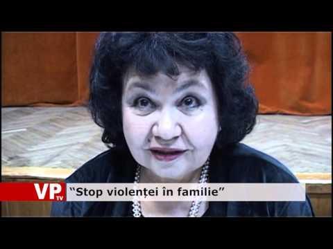 """""""Stop violenței în familie"""""""