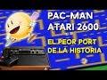 Pac man atari 2600 An lisis Historia Ultradriver