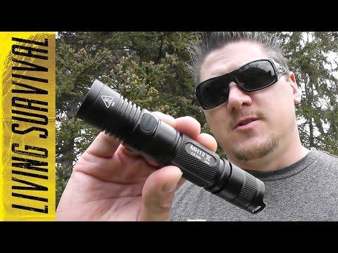 Nitecore MH12 1000 Lumen USB Flashlight
