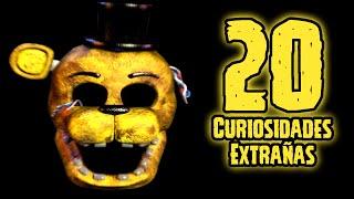 TOP 20: Las 20 Curiosidades Extrañas De Golden Freddy En Five Nights At Freddy's   fnaf   fnaf 2