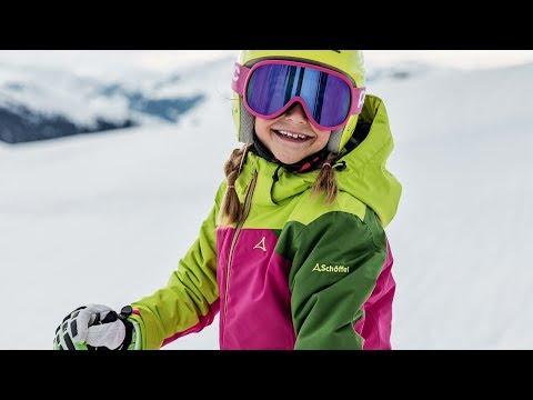 Schöffel Mädchen Ski Jacket LE HAVRE1