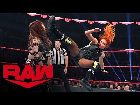 Becky Lynch vs. Kairi Sane: Raw, Oct. 28, 2019