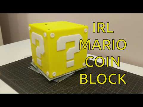 IRL Mario Coin Block - Build Video