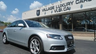 preview picture of video '2009 Audi A4 in review - Village Luxury Cars Toronto'