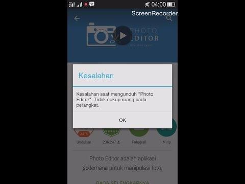 """Video Solusi """"Tidak Cukup Ruang Pada Perangkat"""" di Android"""