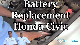 Battery Replacement Honda Civic 2006-2011