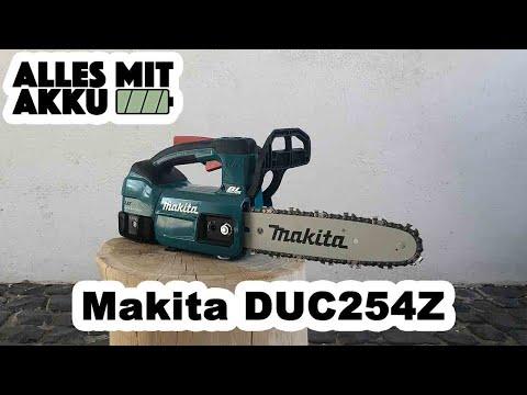 Makita DUC254Z Akku Kettensäge Test | ALLES MIT AKKU