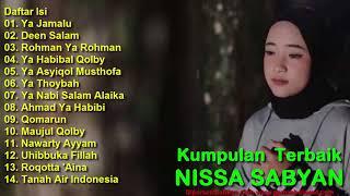 Full Album 14 Sholawat Merdu Terbaik NISSA SABYAN - Bikin Sejuk Hati