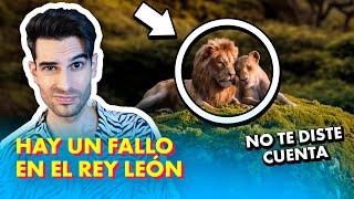 El gran ERROR de EL REY LEON 🦁🦓🐗 ¿Lo habías notado?