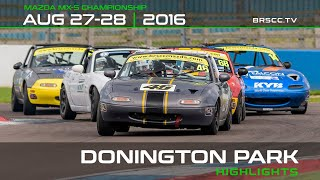 MX-5_Cup - DoningtonPark2016 Rounds12 and 13