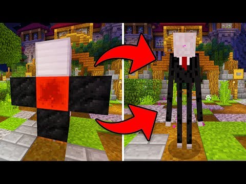 How To Summon SLENDERMAN in Minecraft Pocket Edition?!