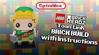 LEGO Legend of Zelda Link! BrickHeadz Build!
