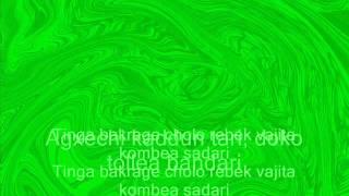 Fuddaracho Raza - Lourdes Colaço, Win Paul & Chorus - lyrics