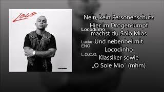 Luciano   Locodinho Feat ENO (Lyrics Video)