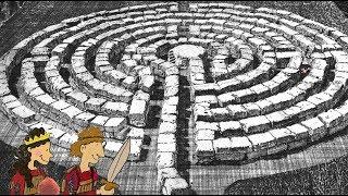 Fortelling Om Daidalos Og Labyrinten