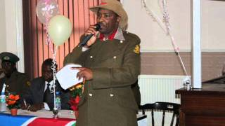 Namibia Heroes Day day, Manchester 2011