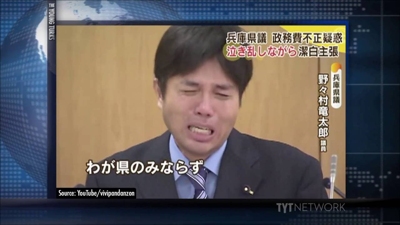 Japanese Politician LOSING IT During Press Conference thumbnail