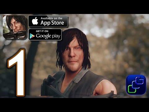 The Walking Dead: No Man's Land iOS Walkthrough - Gameplay Part 1 - Episode 1: Road To Terminus