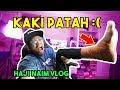 KAKI AKU PATAH :( Haji Naim Vlog!