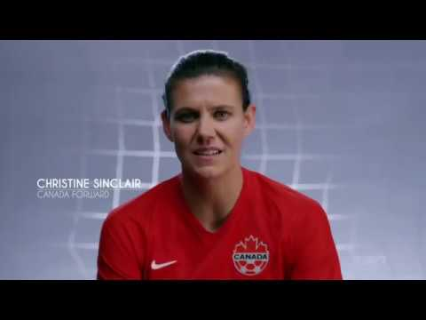 Christine Sinclair Big Dream