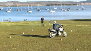 preview picture of video 'Skills challenge at BMW Motorrad Bikefest 2014 at Midmar, South Africa.'