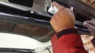 Mercedes Trunk Actuator (Lock) Replacement DIY how to fix car door latch