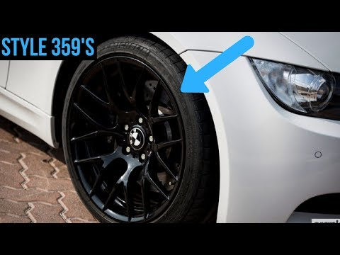 EVERYTHING You Need To Know About My BMW Wheels (Style 359)