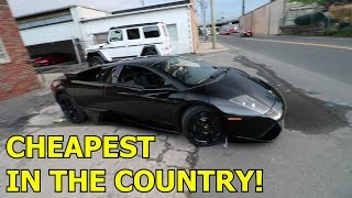 Buying a SALVAGE Lamborghini Murcielago?!