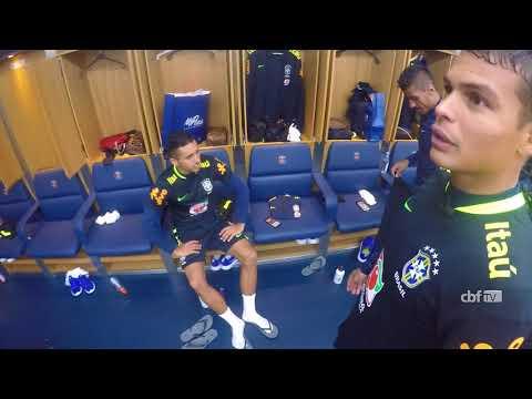 Seleção Brasileira: um tour pelo Parque dos Príncipes com Thiago Silva