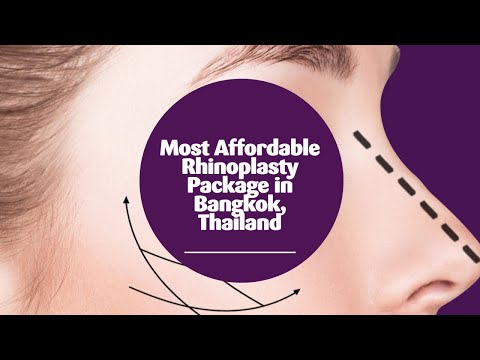 Most Affordable Rhinoplasty Package in Bangkok, Thailand