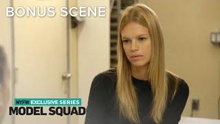 Nadine Leopold Opens Up About Single Life to Shanina Shaik | Model Squad | E! - Video Youtube
