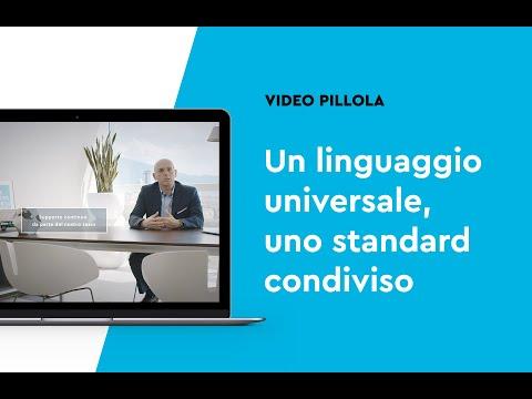 Un linguaggio universale, uno standard condiviso