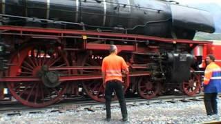 JSVideo. Die Springenden Dampfrösser Von Untervaz DB 01 202 + 01 1066.mpg