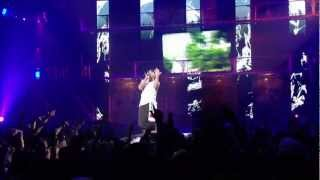 Eminem Cries during performance
