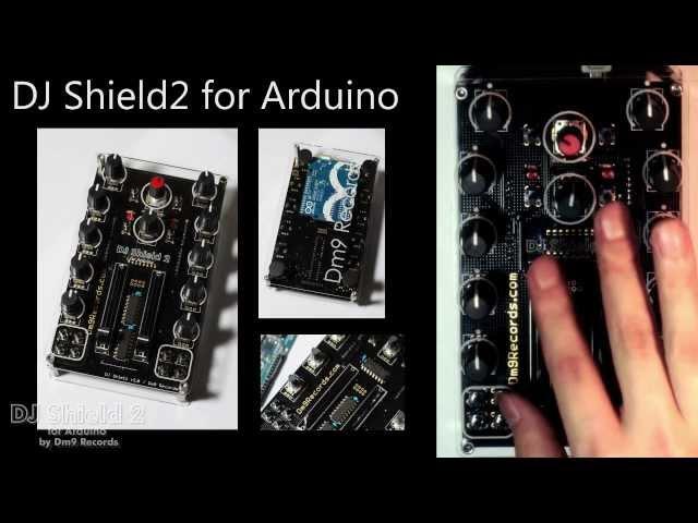 DJ Shield2 for Arduino