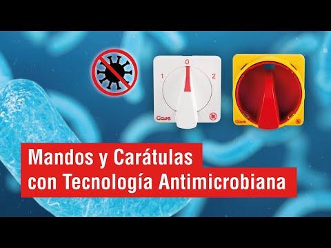 Mandos con tecnología antimicrobiana